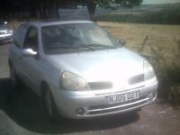 05 renault clio 1.2 authentique