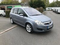 Vauxhall Zafira 1.9 CDTi 150 bhp Elite, Top of the range, Loaded with extras