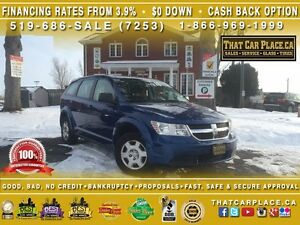 2010 Dodge Journey SE-$44/Wk-7Seats-AUX/CD/Mp3-Pwr Drs/Wdws/Lcks