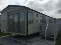 Caravan on Talacre Beach 5* park in north wales