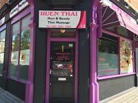 Experienced Beautician Required @ Ruen Thai Spa