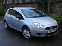 EXCELLENT CAR! 2007 FIAT GRANDE PUNTO 1.2 ACTIVE 3dr, ONLY 64000 MILES, 1 YEAR MOT, WARRANTY