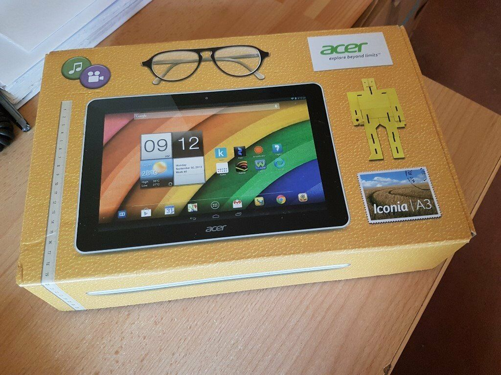 "Acer iconia A3 10"" Android Tablet"