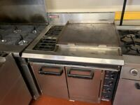 ELECTRIC 3 PHASE GRILL COOKER OVEN 3 IN 1 CATERING COMMERCIAL KITCHEN FAST FOOD