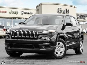 2016 Jeep Cherokee | SPORT | X COMPANY DEMO | 5.0 TOUCHSCREEN |