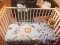 Children's cot, very good condition.