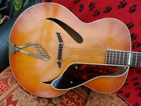 GRETSCH SYNCHROMATIC ACOUSTIC, c1940s px poss