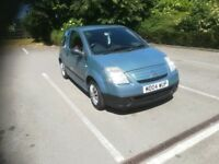 Citroen C2 / 04 plate / full 12 months M. O. T / low milage 81k / GREAT FIRST CAR / CHEAP INSURACE
