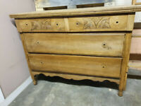 vintage chest of drawers antique arts and crafts barn find