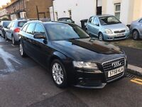 AUDI A4 2.0 TDI AVANT AUTOMATIC 2009 (58) FACELIFT FULL HISTORY NEW MOT 3 KEYS CLEAN CAR HPI CLEAR