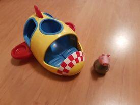 Peppa pig weebles rocket