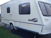 2006 Bailey Pageant Normandie 2 Berth Caravan with Remote Motor Mover.