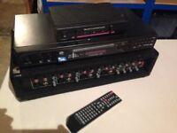 Karaoke Player , Amp & Remote Mic Receiver