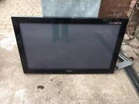 "Samsung 42"" Plasma Tv with wall mounting kit"