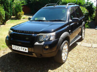 2005 Land Rover Freelander HSE Td4 - Black - New clutch just fitted.