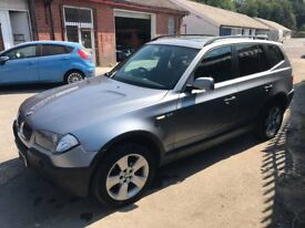 BMW X3 2.5 PETROL FULL LEATHER INTERIOR - AUTOMATIC