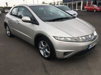 2007 Honda Civic SE 1.8 Auto , mot - April 2019 , service history , 2 owners,focus,astra,auris,golf