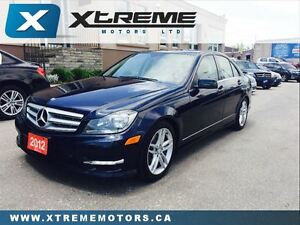 2012 Mercedes-Benz C-Class C250 4MATIC WITH NAVIGATION