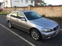 Lexus 4 door saloon 04 plate full service One Owner From New