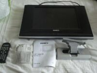 "15"" LCD TV with wall mount"