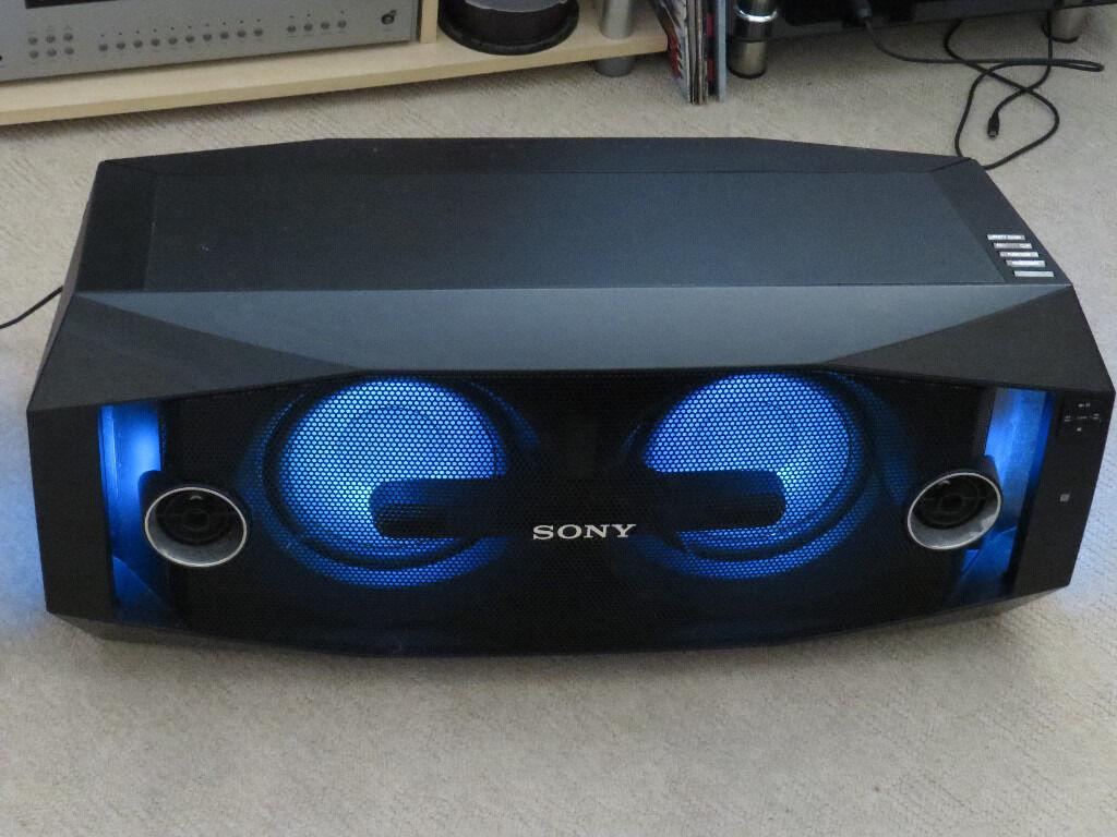 sony gtk x1bt. mega powerful sony gtk-x1bt bluetooth speaker gtk x1bt