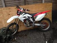 Crf 250 want to swap for a gilera
