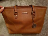 Autograph Tote Tan handbag