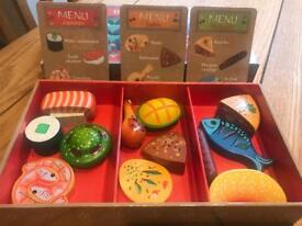 Restaurant wooden food toys