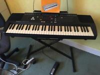 Roland E16 intelligent synthesiser keyboard with extras