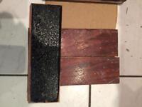 Hardwood thick antique vintage parquet flooring