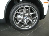 """BMW X5 21"""" 215 DUAL SPOKE BLACK ALLOY WHEELS WITH TYRES E70 F15 RRP 4K!! - DELIVERY AVALIABLE"""