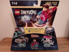 BNIB Lego Dimensions 71201 - Back to the future level pack