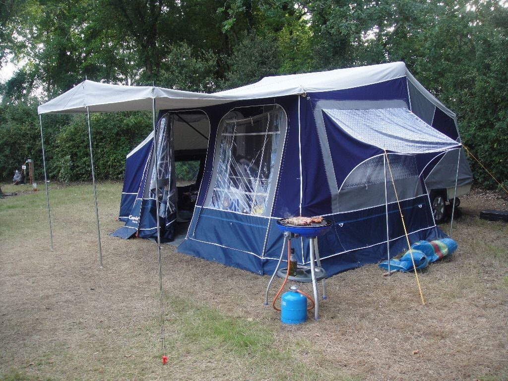 Camplet Concorde SE Trailer Tent With Lots Of Extras