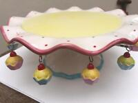 Quirky retro vintage cake stand