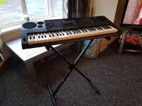 Casio ctk 6200 keyboard with stand
