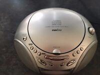 Matsui and Proline CD and Radio Alarm Clocks