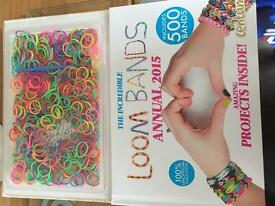 Loom bands with ideas book