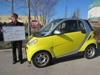 2008 smart fortwo passion   One Owner   Only 51,985 km!