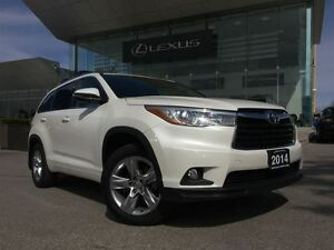 2014 Toyota Highlander Limited AWD Navi Back Up Cam Bluetooth Su