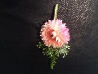 men's floral buttonhole accessory