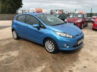 Late 2011 Ford Fiesta 2011 1.4 TDCI Diesel 5 Door **FINANCE AND WARRANTY** (corsa,clio,astra)