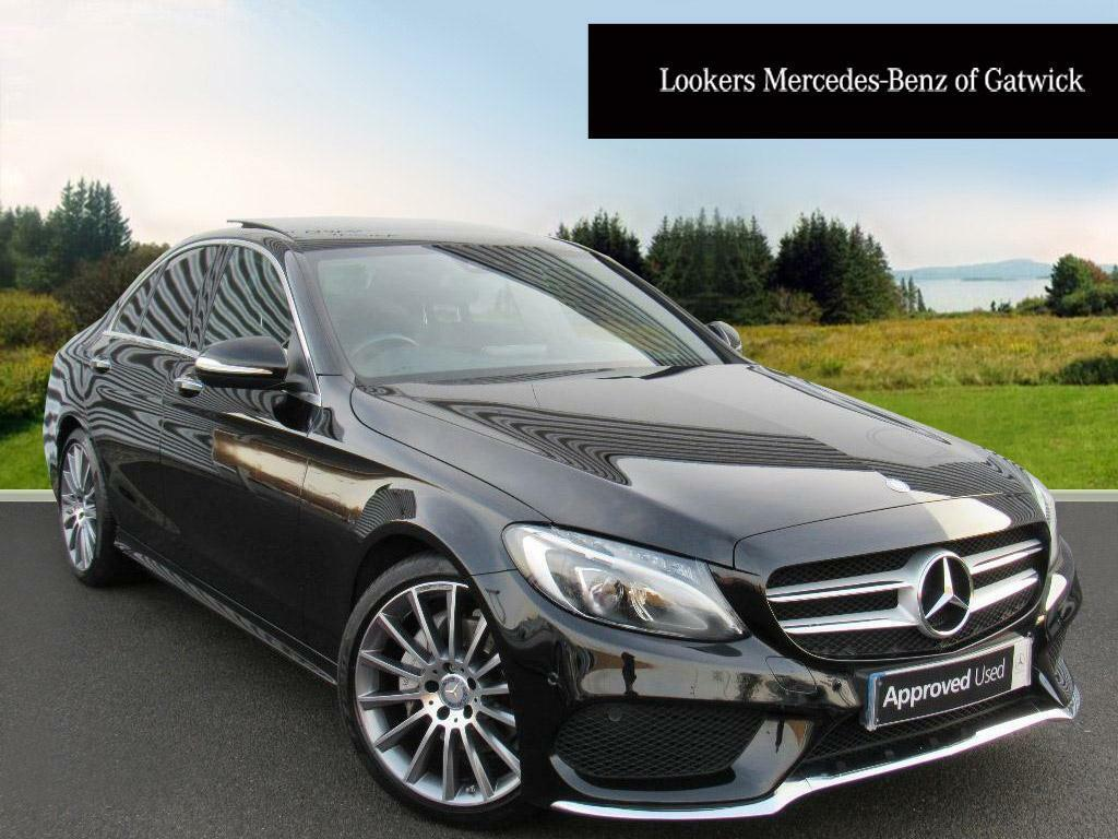 mercedes benz c class c220 bluetec amg line premium plus black 2014 11 22 in crawley west. Black Bedroom Furniture Sets. Home Design Ideas