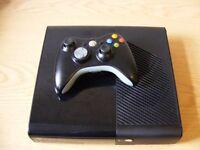 Xbox 360 E 250 Gb console with 7 games