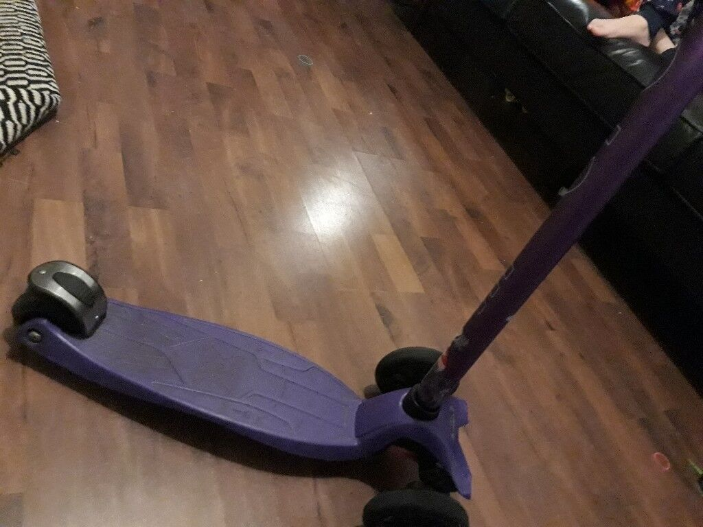 Purple Micro Scooter