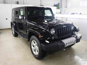 2015 JEEP WRANGLER UNLIMITED 4 DR SAHARA