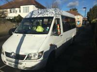 Mercedes sprinter 413CDI Mini-coach Eurobus Conversion 2001