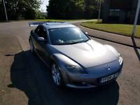 Mazda Rx-8 titanium grey. Electric sunroof model. Must go soon