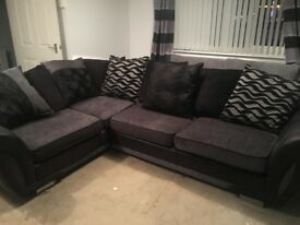 DFS Corner sofa with metal framed sofa bed. Foam cushions so wont lose shape. Excellent condition