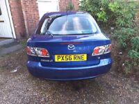Blue Mazda 6