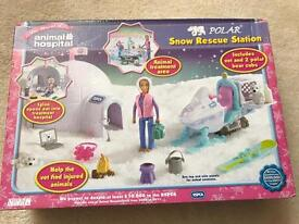 RSPCA animal hospital snow rescue station - brand new in box